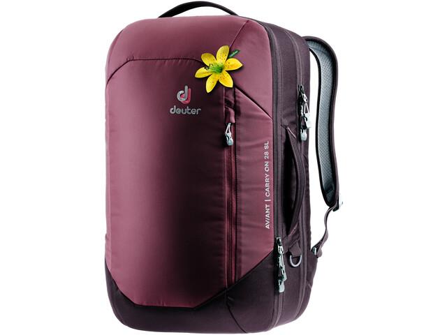 Deuter Aviant Carry On 28 SL Mochila de Viaje Mujer, maron/aubergine